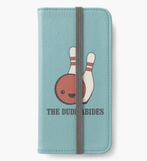 The Big Lebowski - The Dude Abides iPhone Wallet/Case/Skin