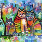 Urban Cats by Karin Zeller