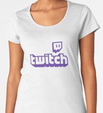 Twitch TV Logo Women's Premium T-Shirt