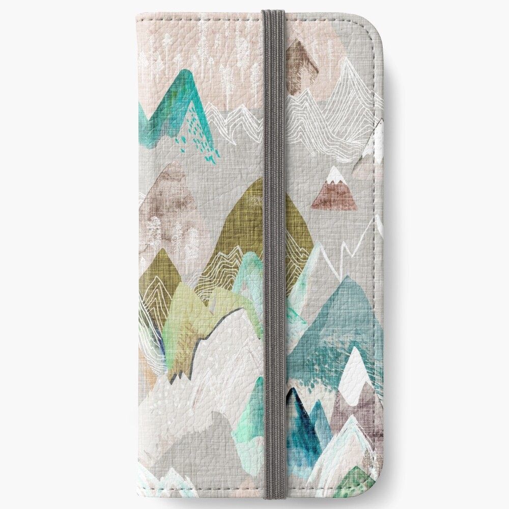 Call of the Mountains (in misty)  iPhone Wallet