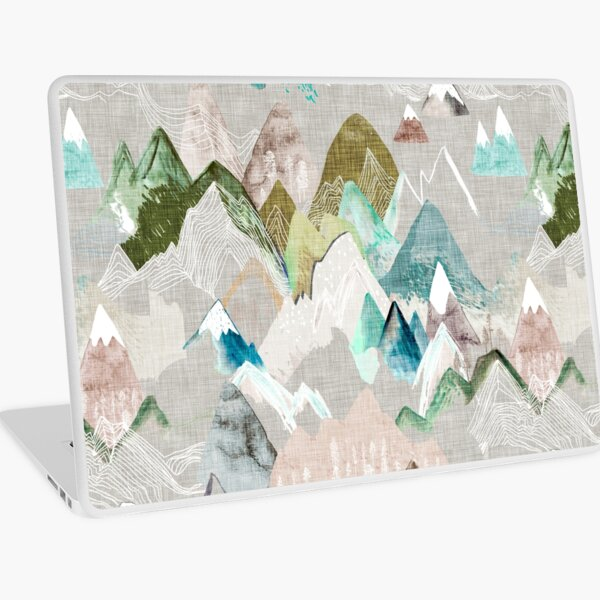 Call of the Mountains (in misty)  Laptop Skin