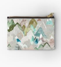 Call of the Mountains (in misty)  Zipper Pouch