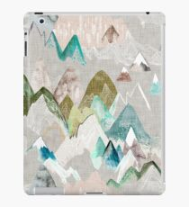 Call of the Mountains (in misty)  iPad Case/Skin