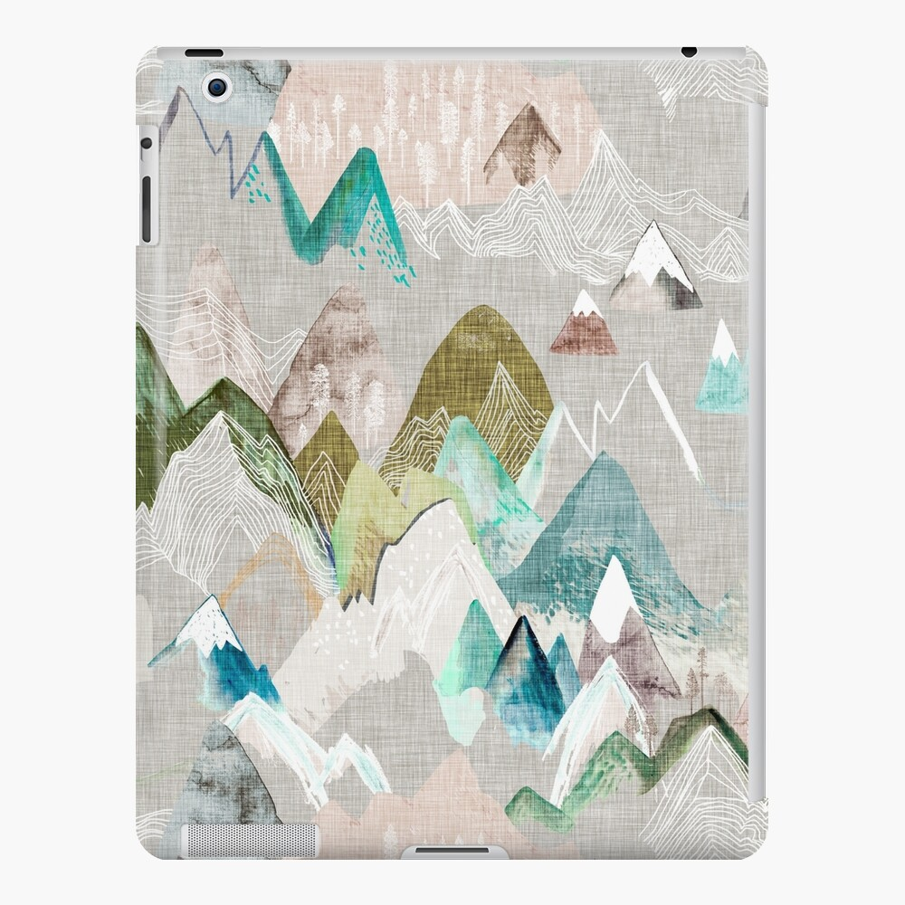 Call of the Mountains (in misty)  iPad Case & Skin