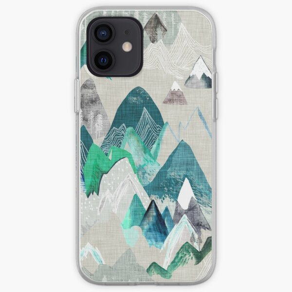 Call of the Mountains (in evergreen)  iPhone Soft Case