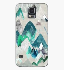 Call of the Mountains (in evergreen)  Case/Skin for Samsung Galaxy