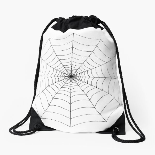 Spider web, spider, web, паутина, web, cobweb, net, tissue, spider's web, spinner, caterpillar Drawstring Bag