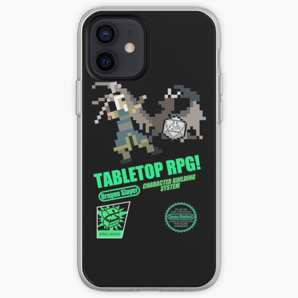 Tabletop RPG! iPhone Soft Case