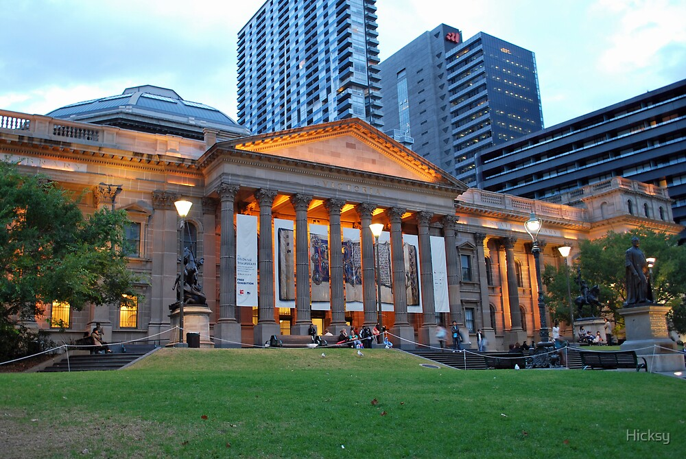 The State Library of Victoria by Hicksy