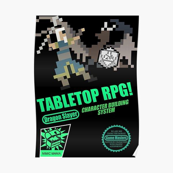 Tabletop RPG! Poster