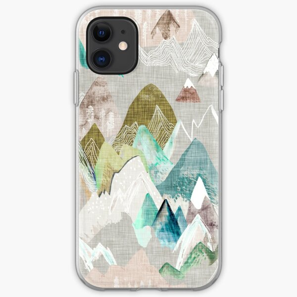 Call of the Mountains (in misty)  iPhone Soft Case