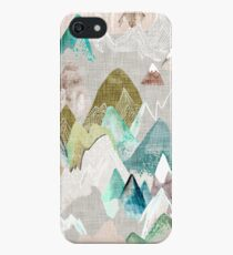 Call of the Mountains (in misty)  iPhone SE/5s/5 Case