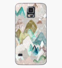 Ruf der Berge (im Nebel) Hülle & Skin für Samsung Galaxy