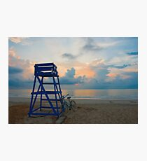 Blues On North Beach Photographic Print