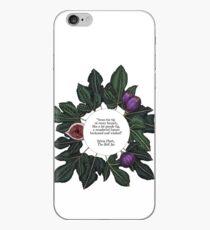 Feigen-Zitat Print - The Bell Jar - Sylvia Plath iPhone-Hülle & Cover
