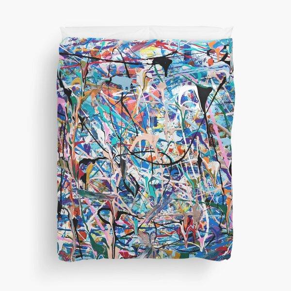 Blue Composition Duvet Cover