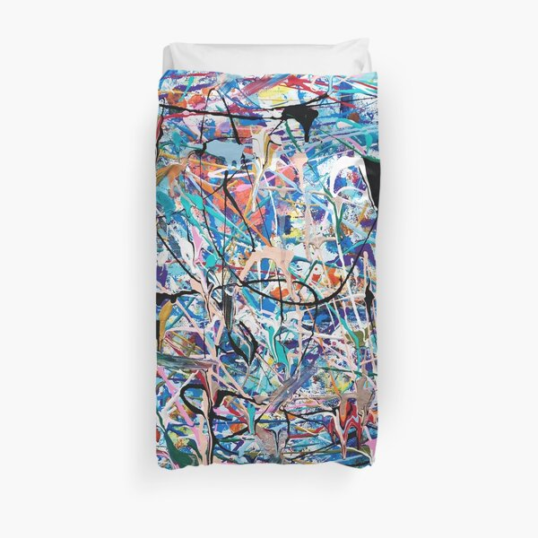 Blue Composition Duvet Cover