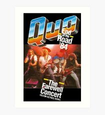 Quo -  End of the Road '84 Art Print