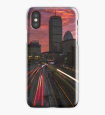 Boston at dawn iPhone Case