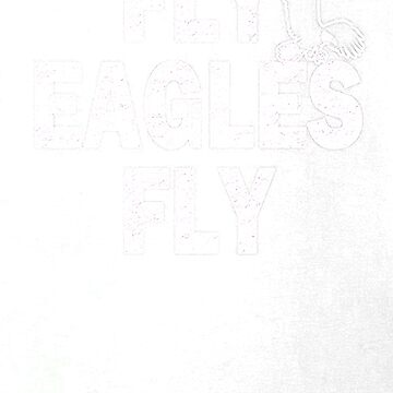 Fly Eagles Fly Bird Football Fan by liniting1223