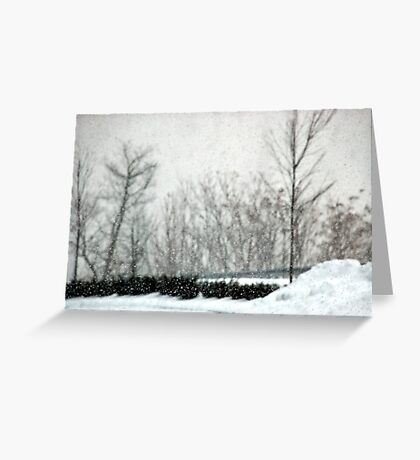 The Weight of Snow Greeting Card