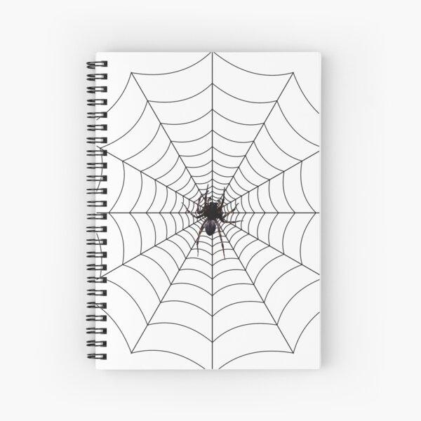 Spider web, spider, web, паутина, web, cobweb, net, tissue, spider's web, spinner, caterpillar Spiral Notebook