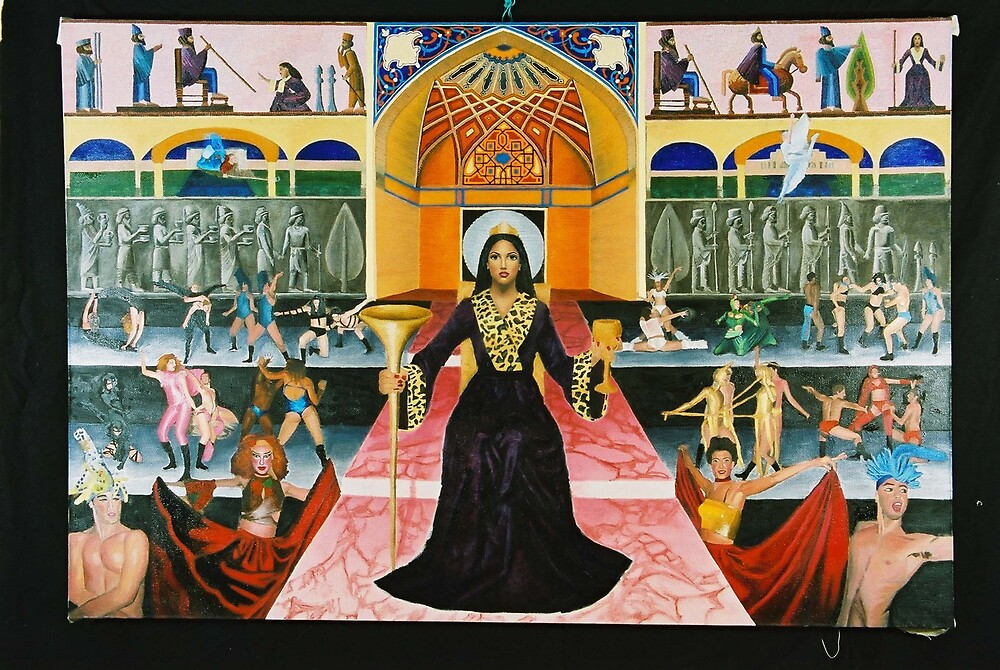Queen Esther  by orit