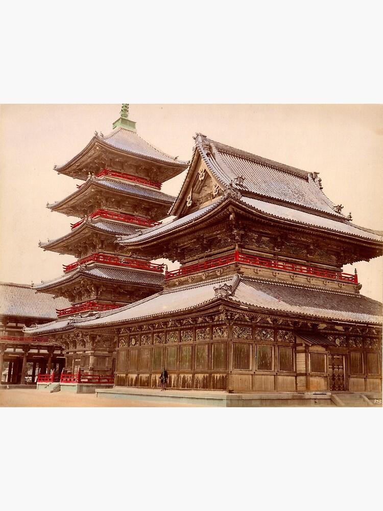 Shitennoji buddhist temple, Osaka, Japan by Fletchsan