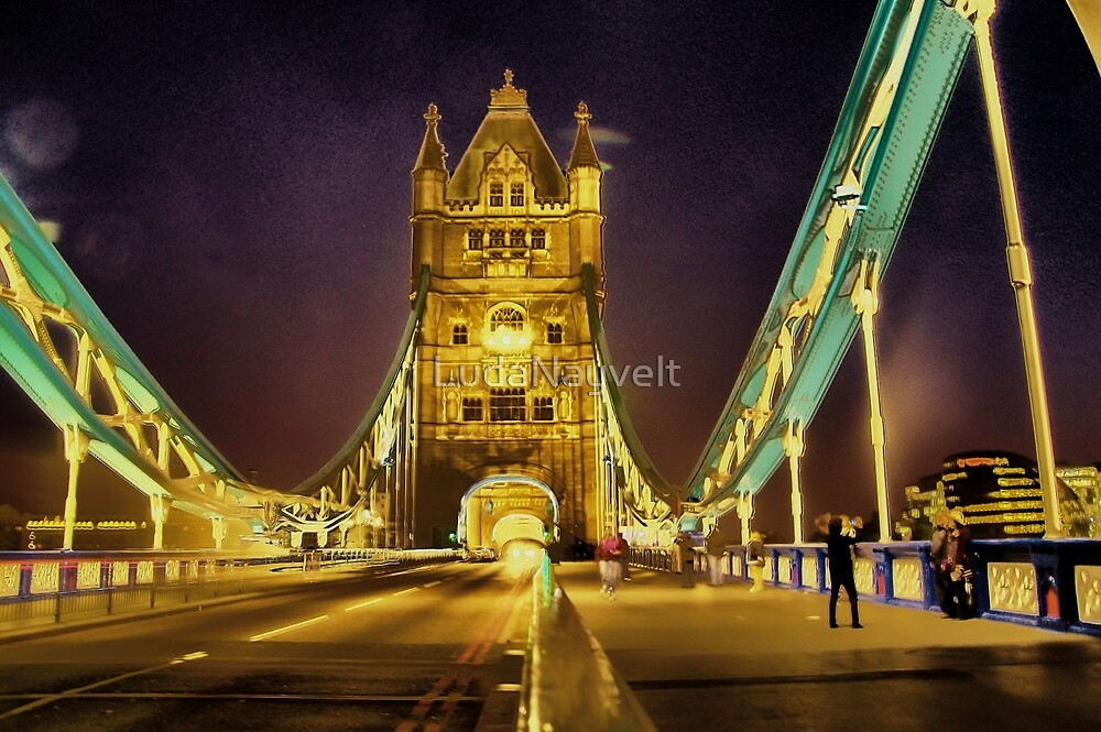 Tower Bridge at night  by LudaNayvelt