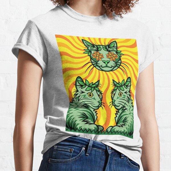 Yellow Sunshine Catnip (Electric Catnip) Classic T-Shirt