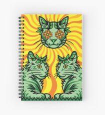 Yellow Sunshine Catnip (Elektrische Katzenminze) Spiralblock