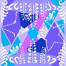 Lavender grove Pattern by hildurko