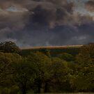 Storm Over Mount Diablo, CA by MattGranz