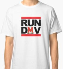 RUN DMV - White Classic T-Shirt