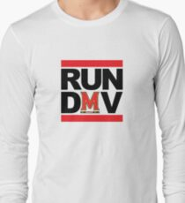RUN DMV - White Long Sleeve T-Shirt