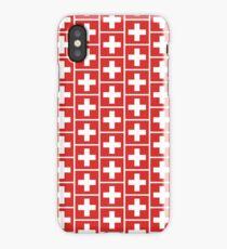 Suisse Switzerland Schweiz Football World Cup 2018 | National Flag | Merchandise • ID-A1  iPhone Case