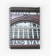 London 2011, Aldwych/Strand #3 Spiral Notebook