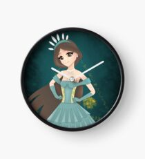 Empress (Tarot Card Series) Clock