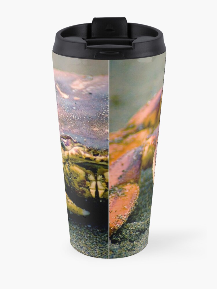 Alternate view of Absolutely Crabulous Travel Mug