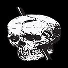 Frontal Lobotomy Skull Of Phineas Gage Vector Isolated by taiche