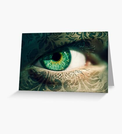 An Eye for Art Greeting Card