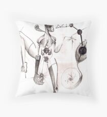 Creation Series #9 Throw Pillow