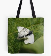 Mating Butterflies Tote Bag