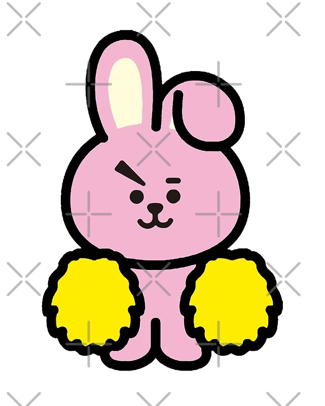"""""""BTS - BT21 - COOKY (JUNGKOOK)"""" Art Prints by Red-One48 ..."""