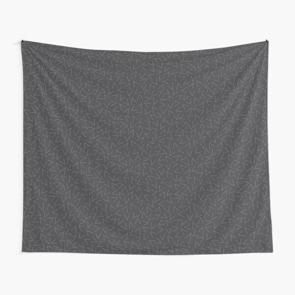 90s Grey Pattern Tapestry