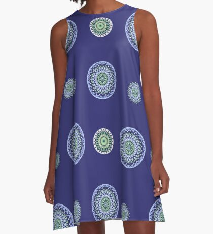 AFE Mandala Pattern A-Line Dress
