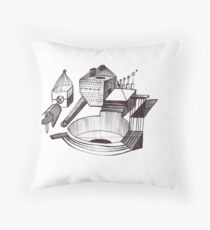 Creation Series #18 Throw Pillow
