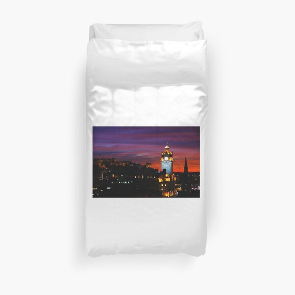 Edinburgh Evening Duvet Cover