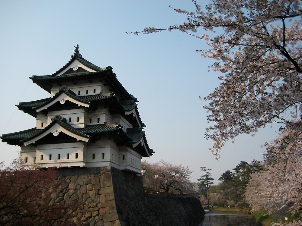 Hirosaki Castle by profusemoose