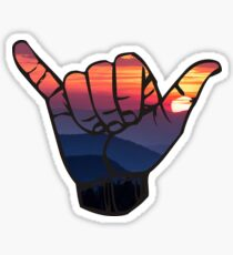 Sunset--Hangloose Sticker